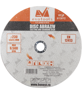 Disc Abraziv ETS A36 diametru: 125mm, grosime: 2mm