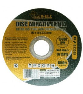 Disc Abraziv BuildXell A60 Extra / D[mm]: 115 B[mm]: 1.2