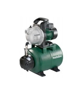 Hidrofor METABO HWW 3300/25 G inox 900 W 24 l 3300 l/h inaltime refulare 45 m adancime absorbtie 8 m 4.5 bar 16.2 Kg