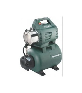Hidrofor METABO HWW 3500/25 S inox 900 W 24 l 3500 l/h inaltime refulare 45 m adancime absorbtie 8 m 4.5 bar 14.6 Kg