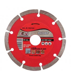 Disc diamantat segmentat DRY 115x22.2mm RD-DD01