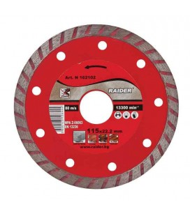 Disc diamantat Turbo 115x22.2mm RD-DD05