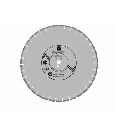 Disc diamantat Masalta beton 500mm PRO