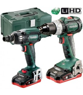 Set Metabo BS 18 LT BL + SSW 18 LTX 400 BL