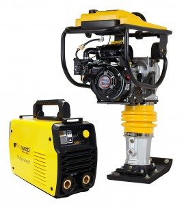 Pachet Mai compactor Stager SG80LC motor Loncin LC168F-2H + Invertor MMA ProWeld MMA-160DLS