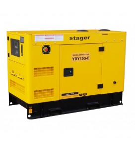 Generator Diesel insonorizat Stager YDY15S-E